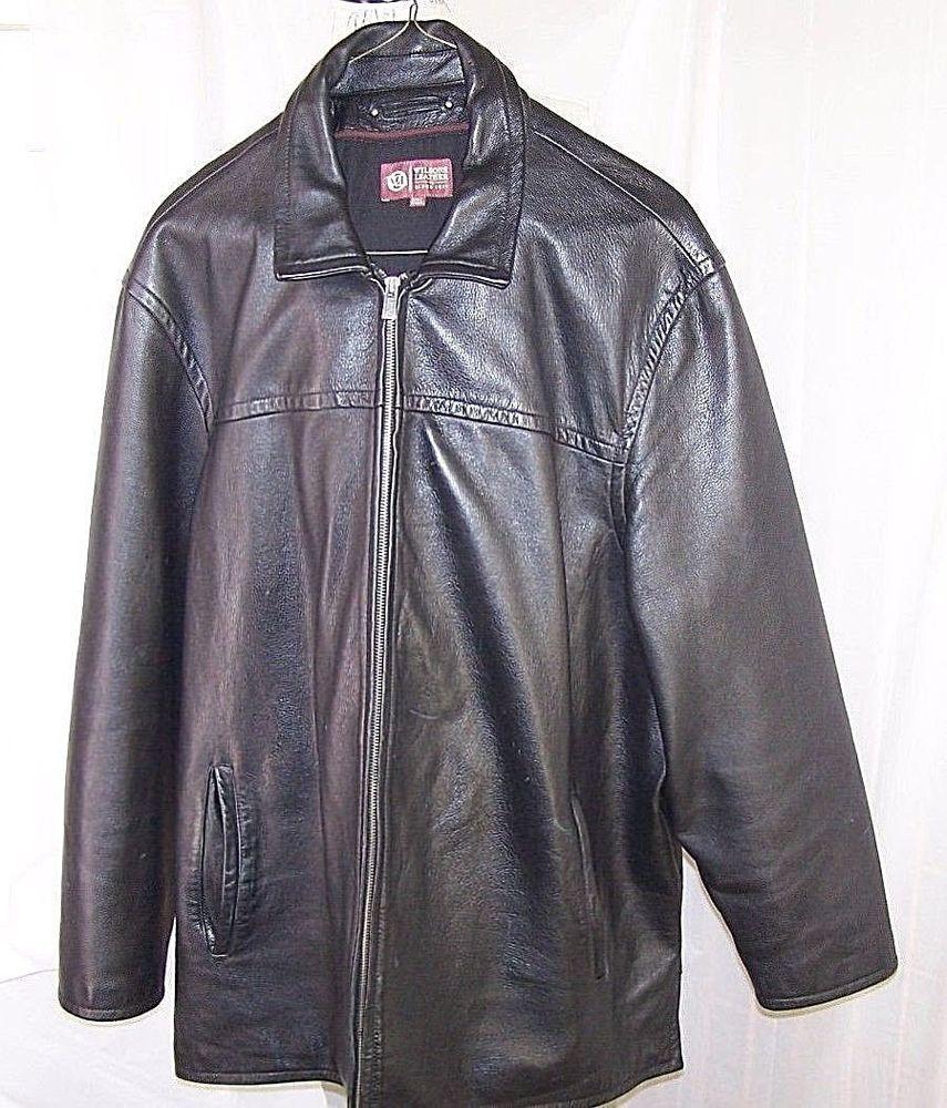 Wilsons Leather Men S 3xlt Full Zip Heavy Motorcycle Jacket Coat Black Wilsonsleather Motorcycle Mens Jackets Jackets Coats Jackets [ 1000 x 855 Pixel ]