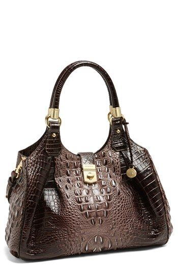 Brahmin 'Elisa' Handbag - I think this would make a perfect concealed carry purse with the center zipper