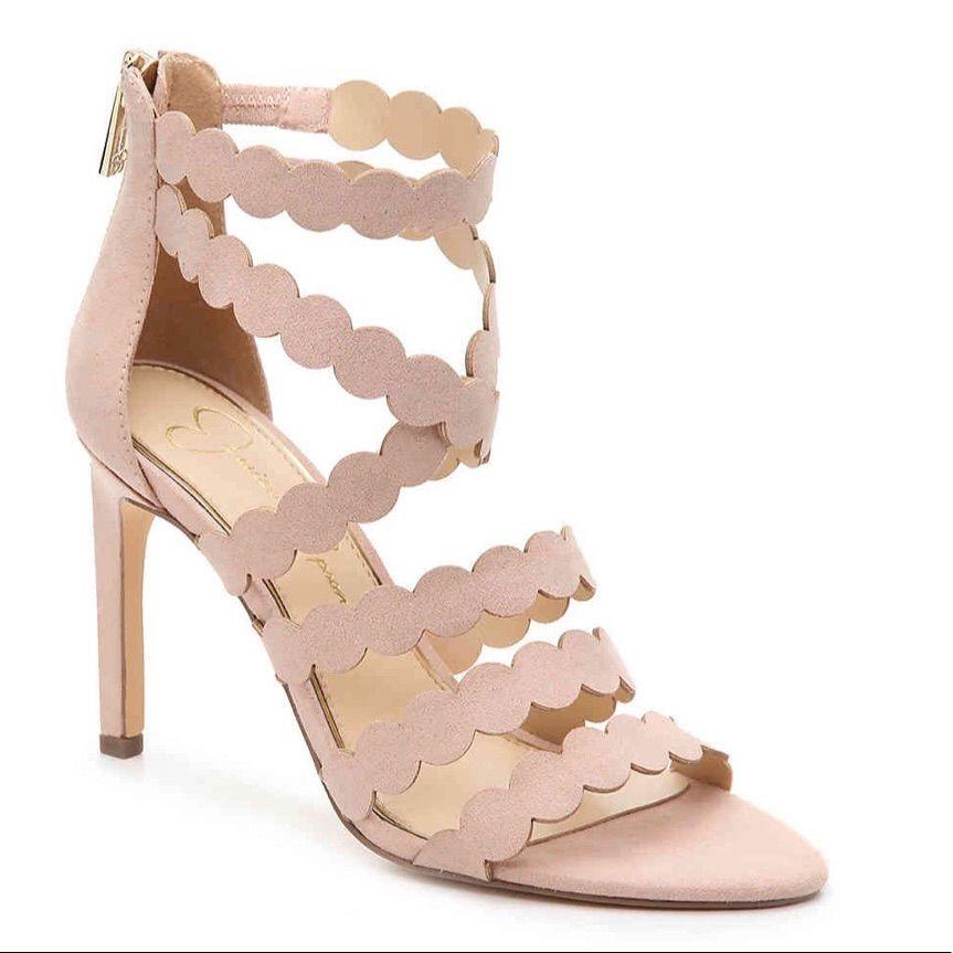 Jessica Simpson Dusty Pink Centinoa Sandal Heel Mens