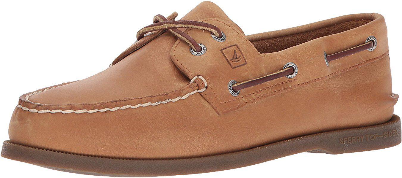 pretty cheap attractive price the best attitude Amazon.com | Sperry Top-Sider Men's A/O 2 Eye Boat Shoe, Sahara ...