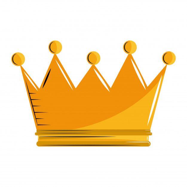 Rey corona de dibujos animados Vector Premium | Baby ...