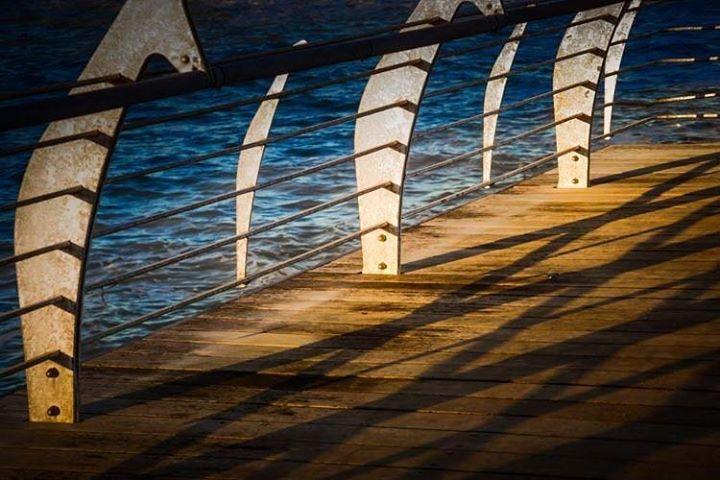 #photooftheday #sea #pier #shadows #light #sunset http://ift.tt/1o9BbBG - http://ift.tt/1HQJd81