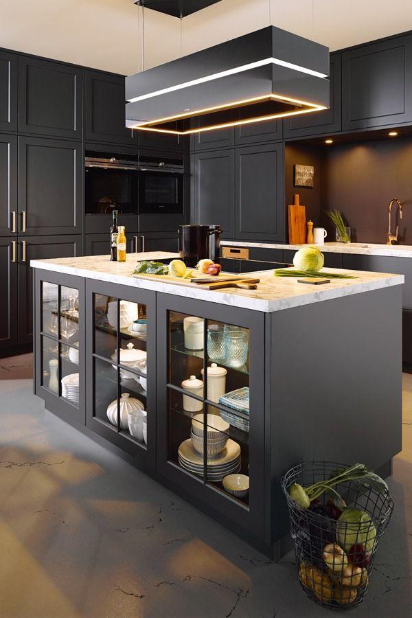 Landhausküchen lassen sich leicht modern gestalten. Statt ...