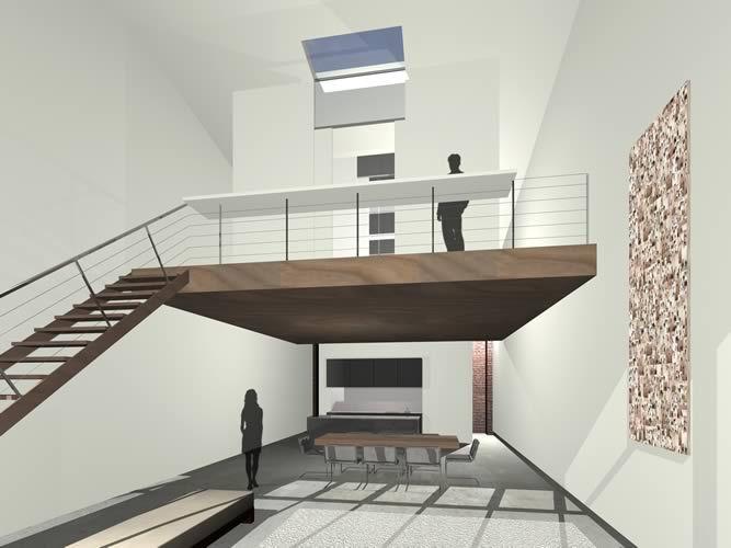 3d modern mezzanine design ideas