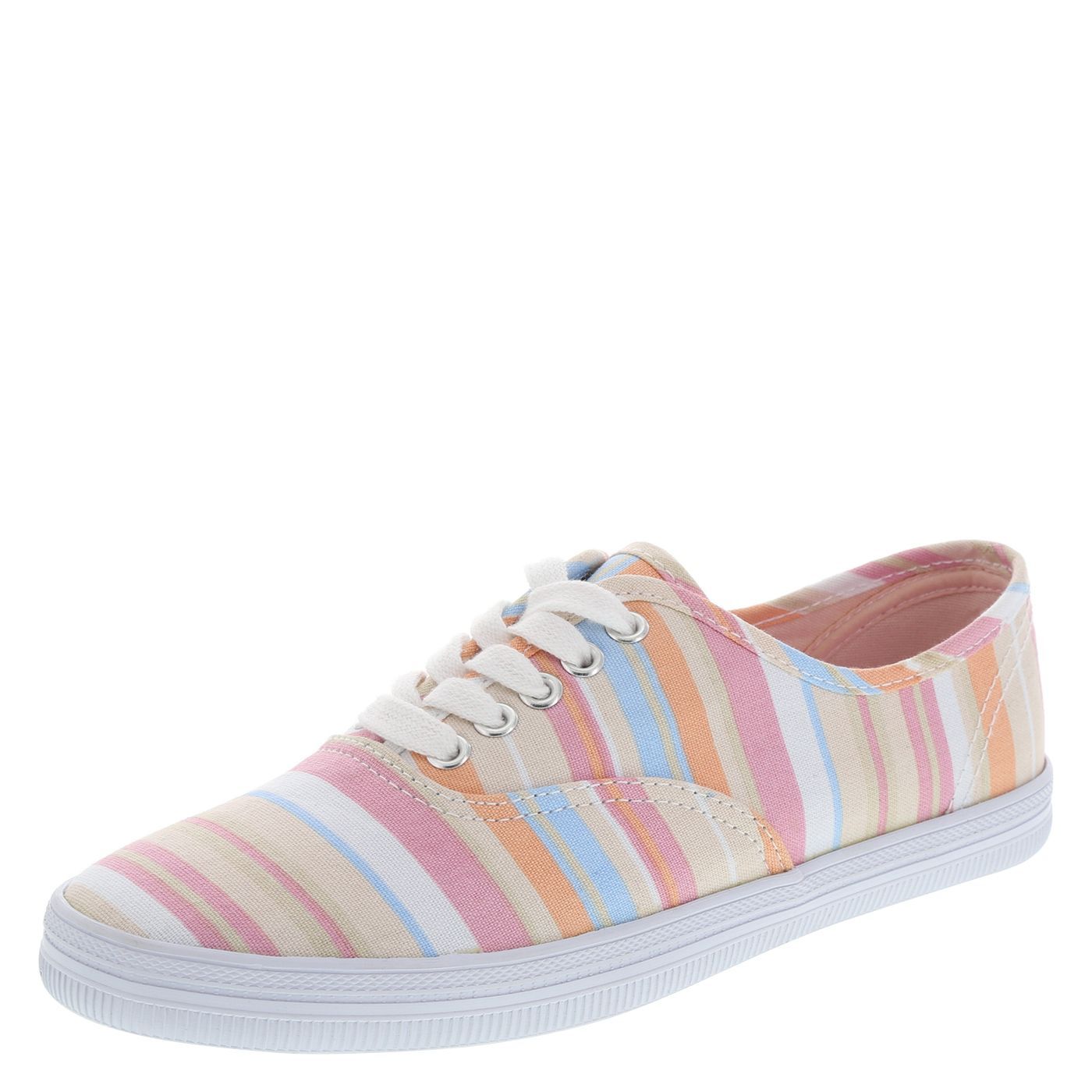 17affb23b0e8 City Sneaks - Womens Canvas Bal Sneaker