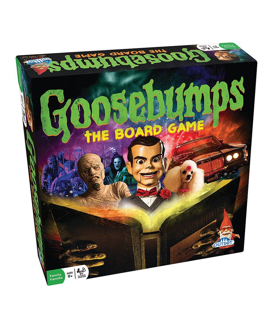 Another great find on zulily! Scholastic Goosebumps