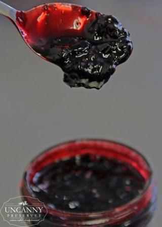 Haskap Maple Whiskey Jam  Substitute blueberries for the