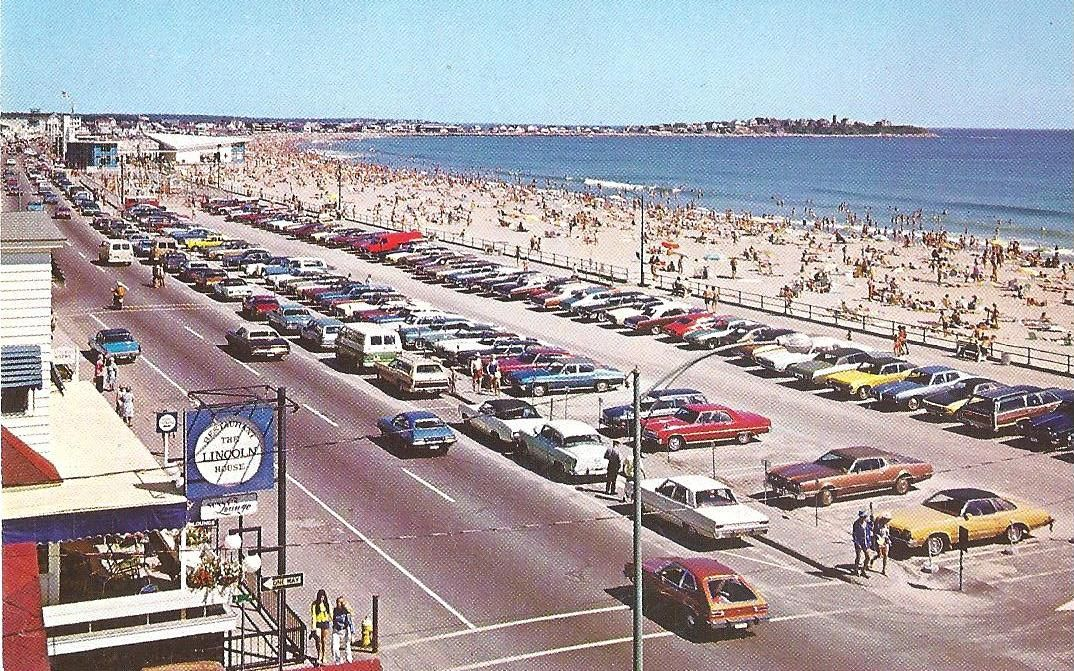 Hampton Beach New Hampshire 1970s