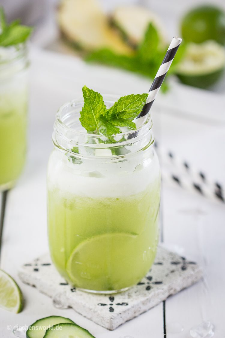 sommerliches Rezept für einen erfrischenden, gesunden Vital