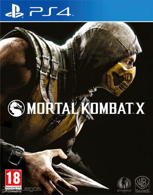 Mortal Kombat X para PlayStation4, Playstation 3, Xbox One, Xbox 360 y PC