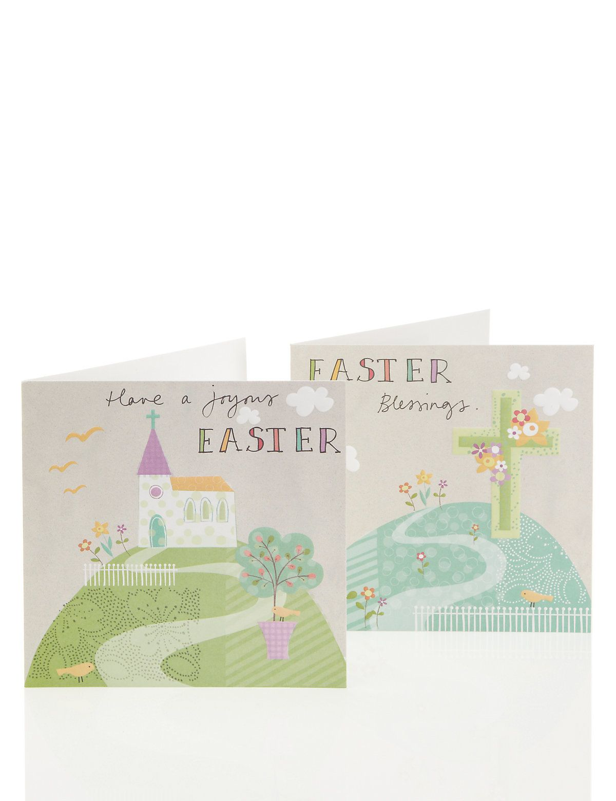 Pastel church scene multipack easter cards ms easter pastel church scene multipack easter cards ms kristyandbryce Image collections