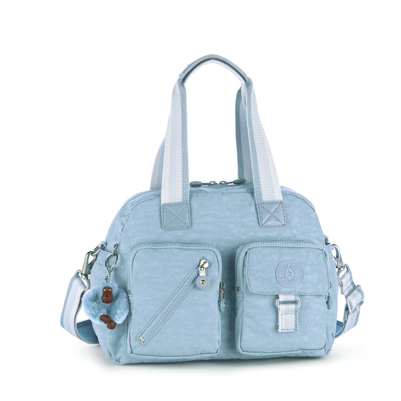 3f621d1733810 Kipling Defea Basic Mittelgroße Schultertasche Pastel Blue C ...