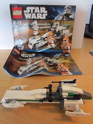 Lego Star Wars 7913 Clone Trooper Battle Pack Box Instructions