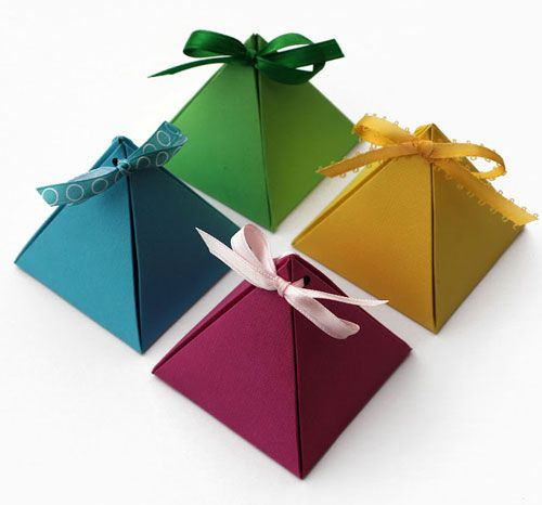 Creative DIY Gift Box Design Ideas with Free Templates Projects - homemade gift boxes templates