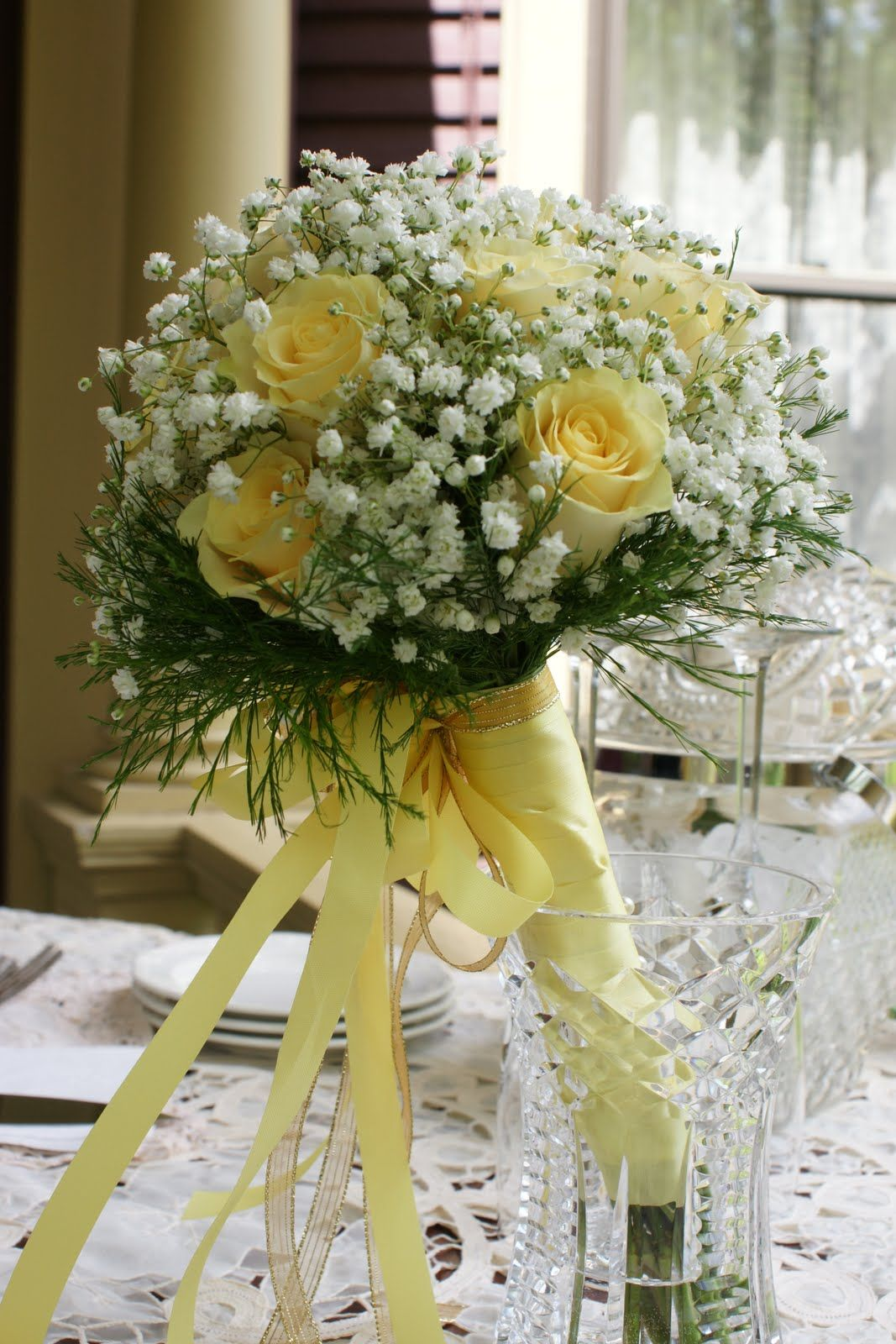Cakes Bouquets Wedding Bouquets Yellow Wedding Bouquet Wedding Bouqet