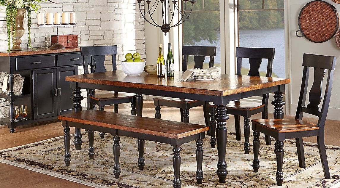 Affordable Rectangle Dining Room Sets - Rooms To Go Furniture | Home ...