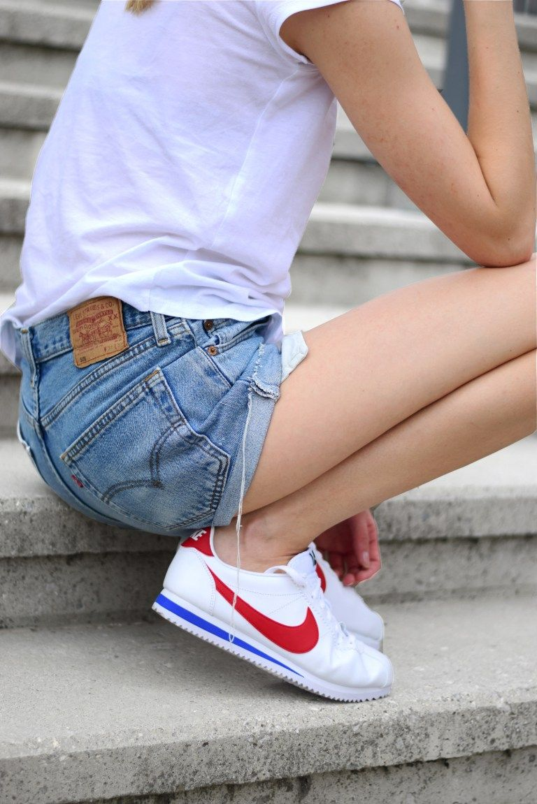 Nike Cortez Sneakers With Images Nike Fashion