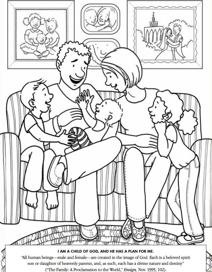 Coloring Pages Family Mim5 Collection Of Free Preschool Coloring