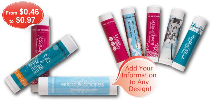 cheapest personalized chapsticks I have found Definitely using