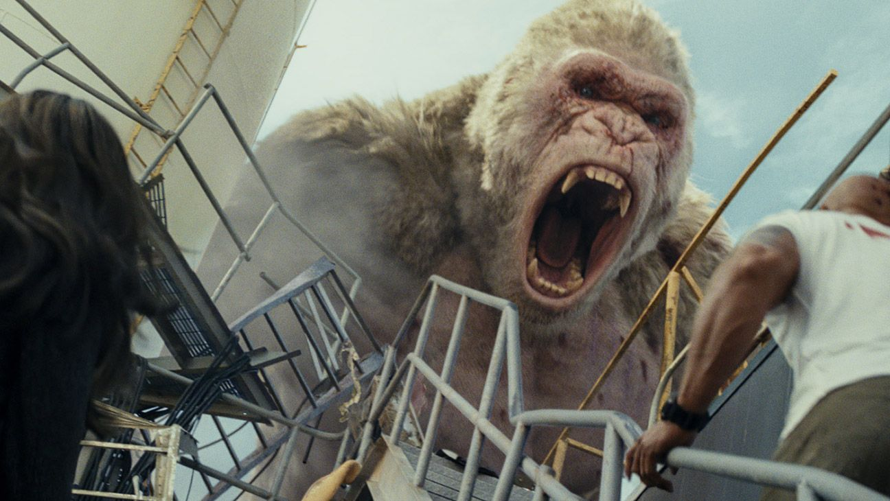'Rampage' Has One Disastrous Problem It feels like two