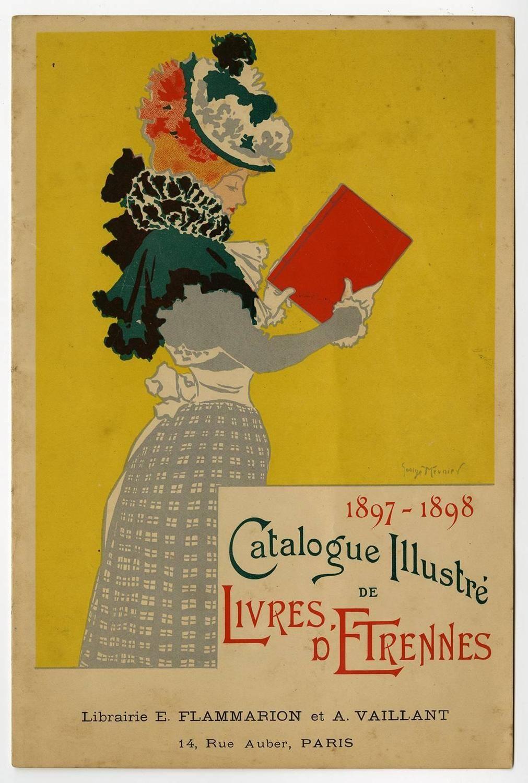 George Meunier 1897 1898 Catalogue Illustre De Livres D Etrennes Print For Sale At 1stdibs Figurative Prints Prints Poster Prints