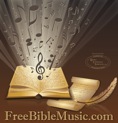 Bible scriptures set to music for easier memorization of the