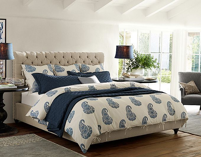 Pottery Barn Master Bedroom Decorating Ideas: Bedroom Ideas - Chesterfield