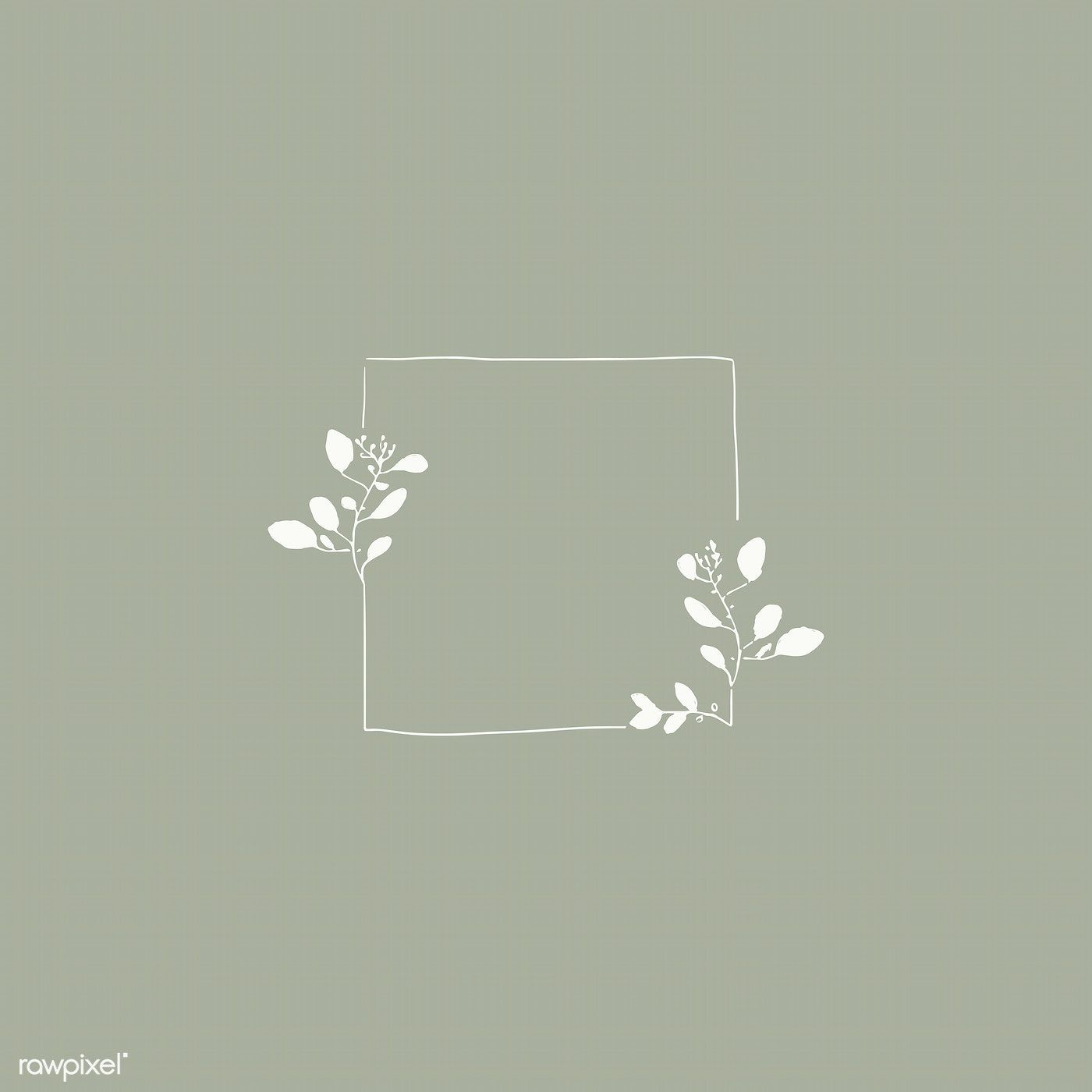 Photo of Download premium vector of Doodle floral wreath vector collection 843842