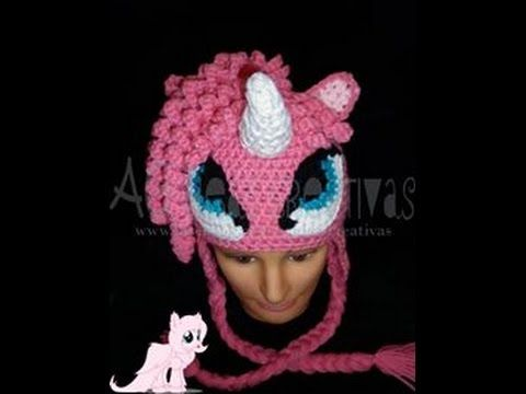 Gorro Tejido My Little Pony Parte 1/ Crochet Hat My Little Pony Part ...
