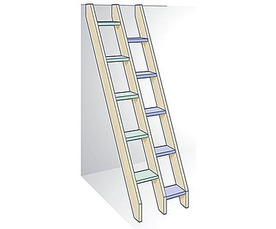 how to build a ladder to the basement sims 3