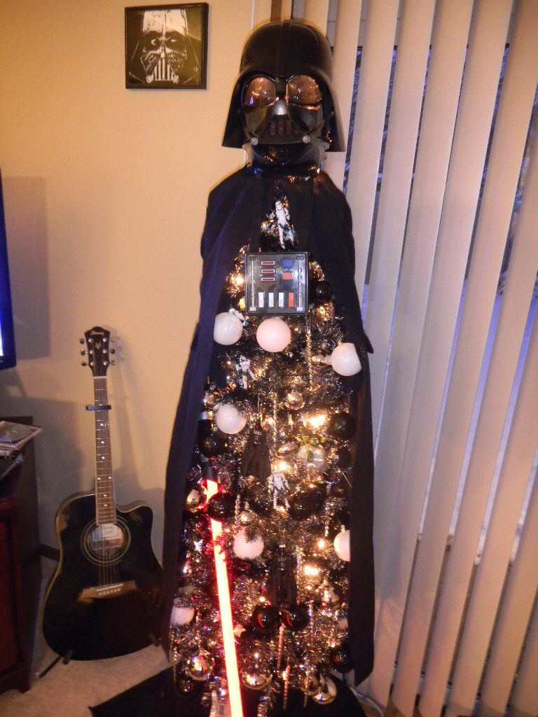And my nerd Christmas tree just got trumped. I might have ...
