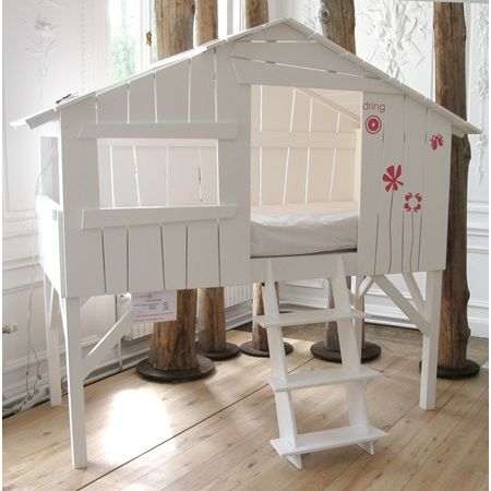 Kids Bedroom Tree House kids bedroom tree house bed in white | #babywebs ❤ | pinterest