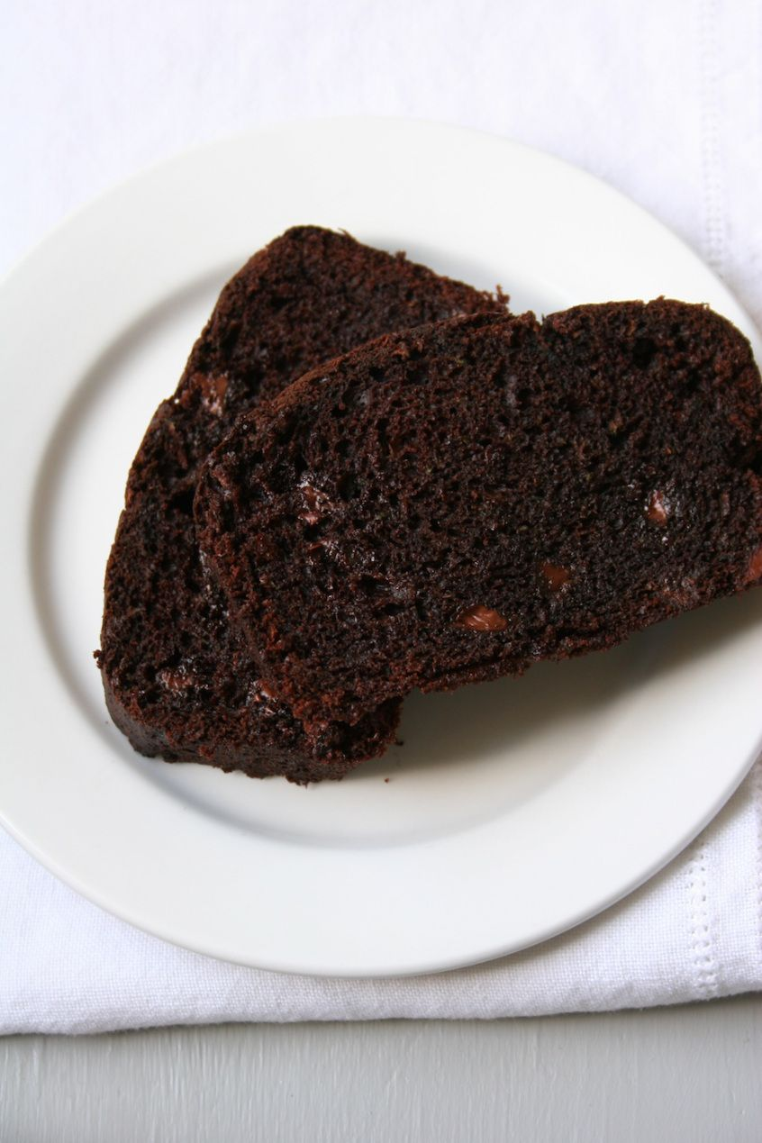 chocolate zucchini bread - its amazing