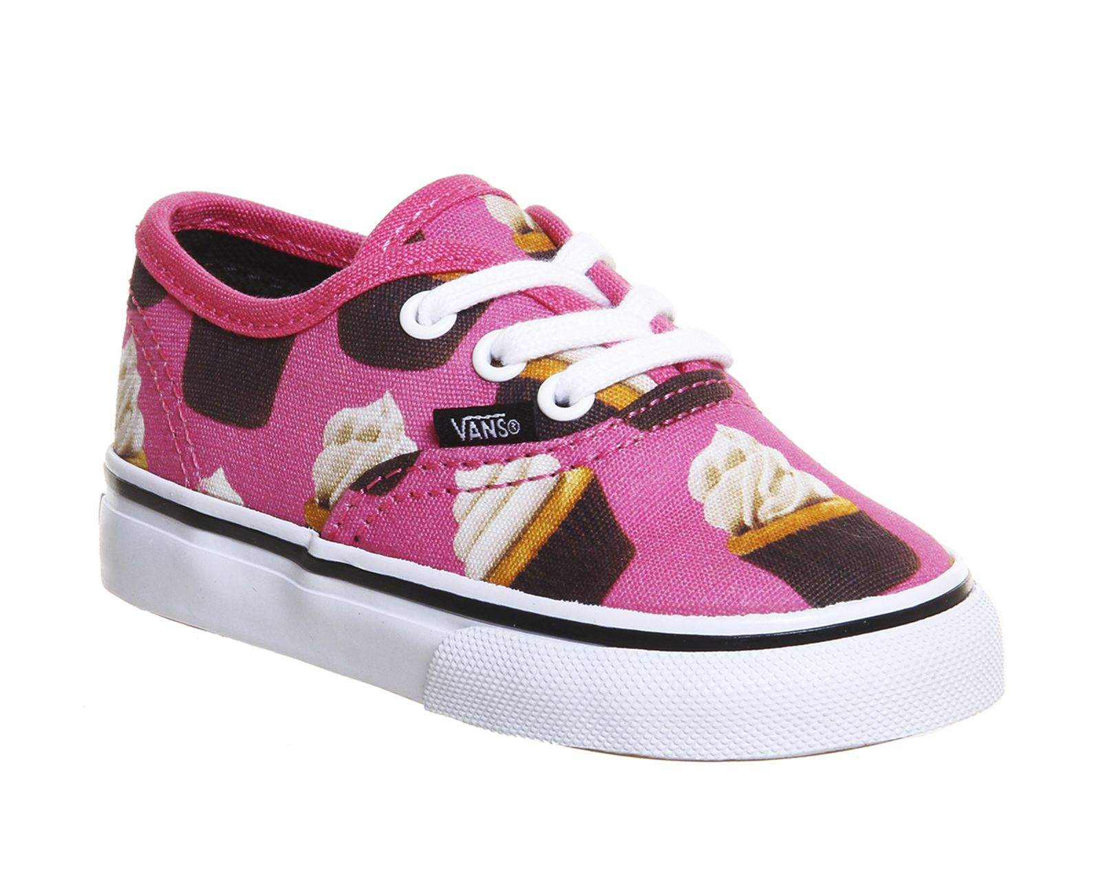 Hot Pink Cupcakes Vans Authentic Toddlers From Office Co
