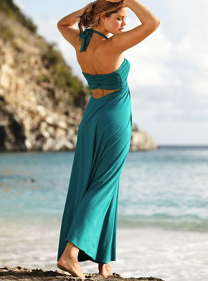 Maxi Lightly Padded Bra Top Dress - Victoria\'s Secret | Style Ideas ...