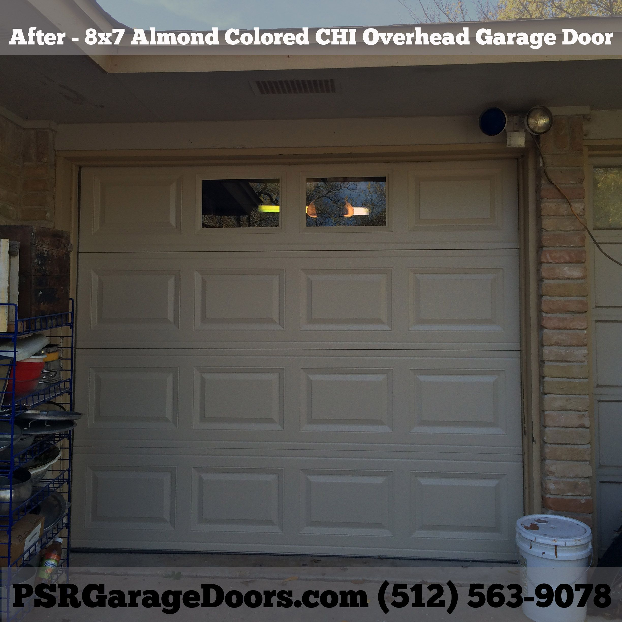 After Pic Of A CHI Overhead Garage Door Installation We Completed In Austin  Texas