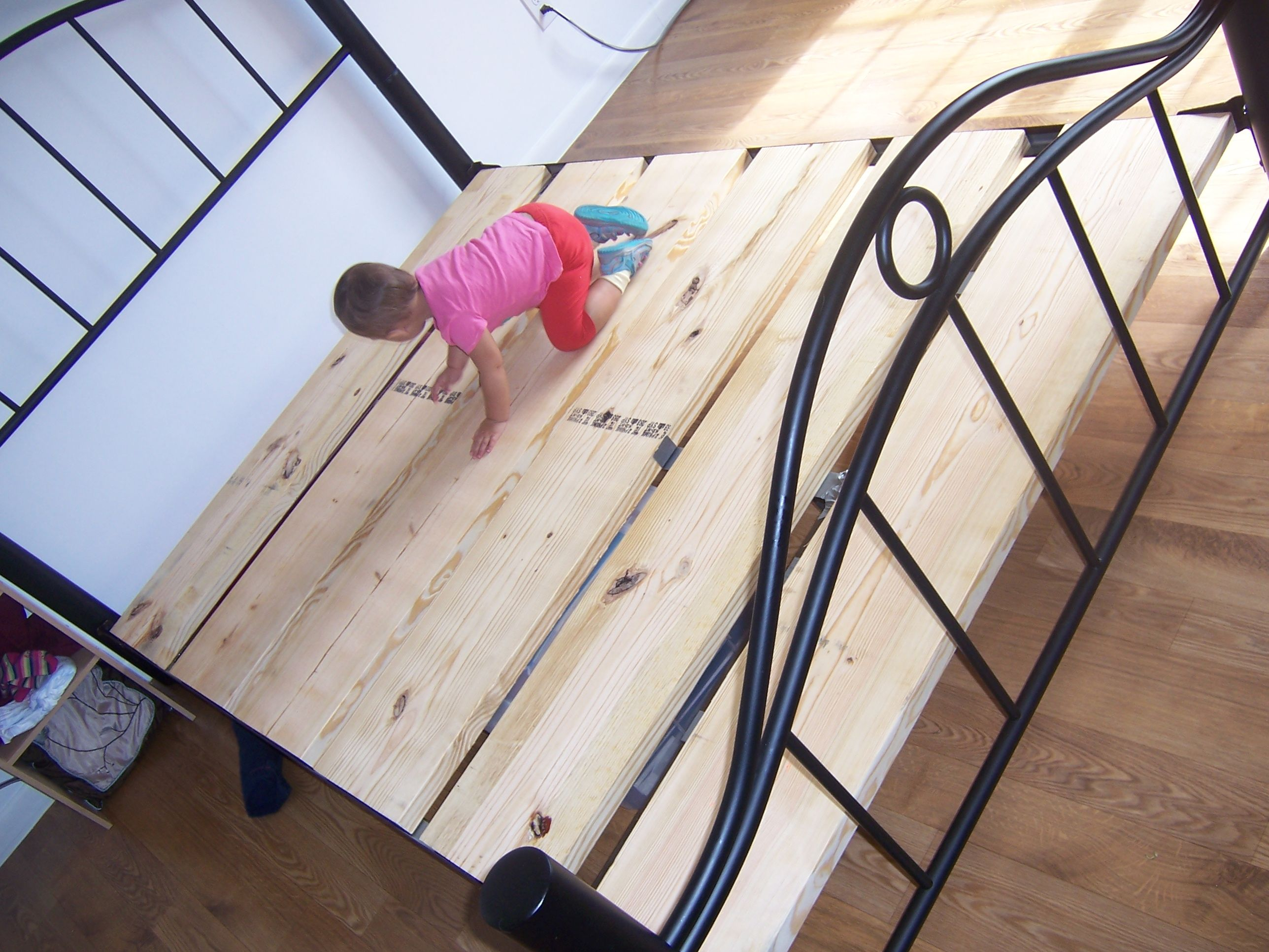 How To Make Your Own Boxspring Make Sure You Cover Your New Slats