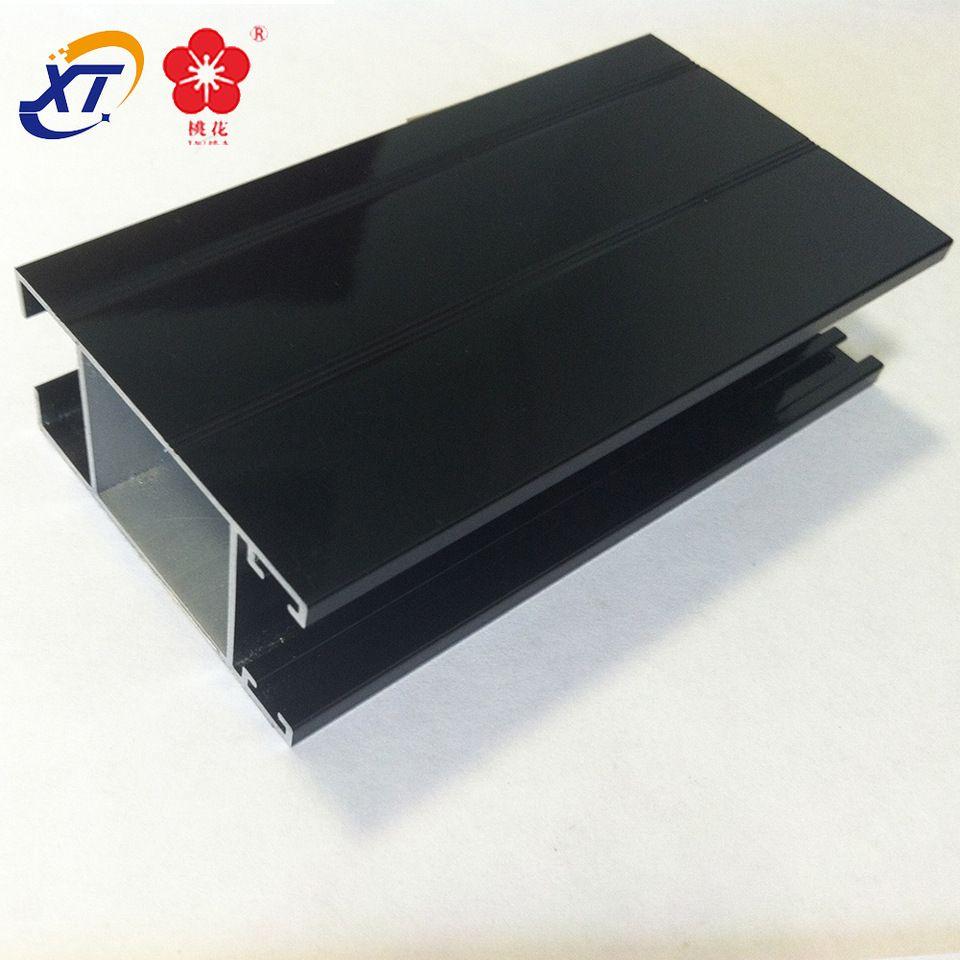 90 degrees black anodized aluminum extrusion profile 6030 triangle ...