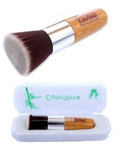 Colorshine New Artificial Fibre Cosmetic Brush Flat Brush Foundation Brush Powder Brush by Colorshine. $19.99. High quality makeup brushes designed for professional and/or amateur use.. Contains several purposes:Can as Flat Brush Foundation Brush Powder Brush. Brushes is made with Artificial Fibre and washable.. Come with a free little box that you can carry it independent.. Eco-friendly material - Wooden handle.. This high quality Colorshine makeup brush set is p...