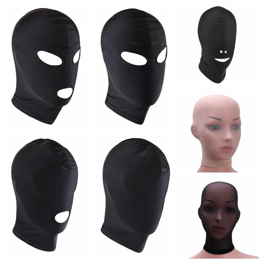 Head Mask Spandex Hood Head Mask Halloween Carnival Party Costume Accessory