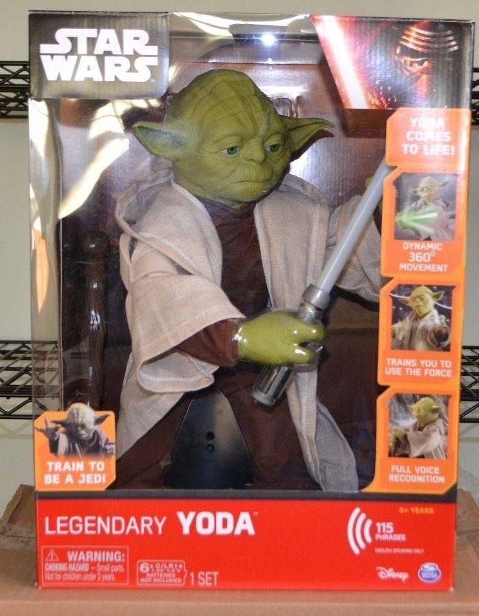 Star Wars Episode VII The Force Awakens Legendary Yoda