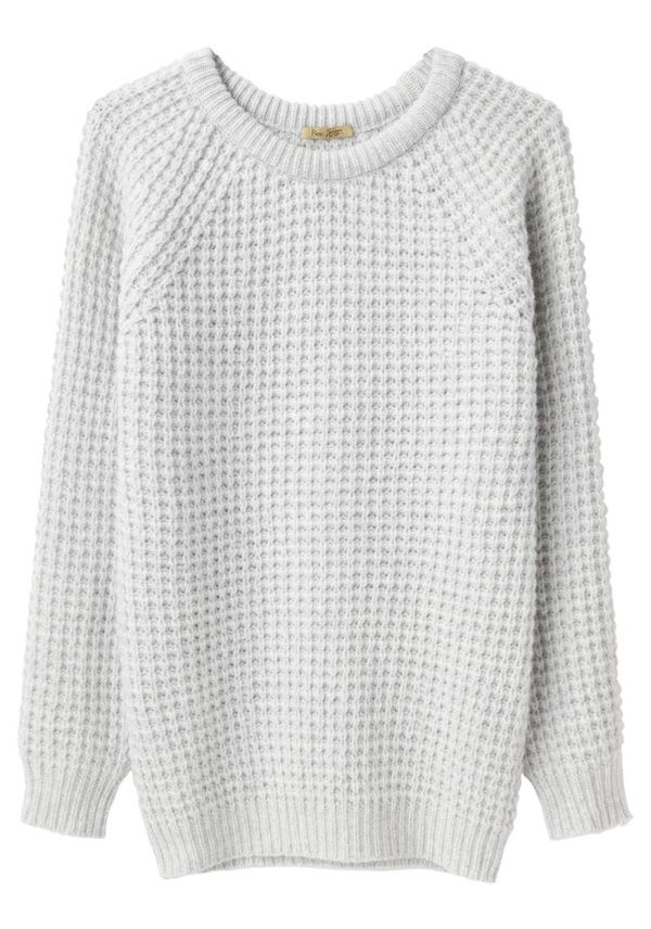 Cozy boyfriend sweater to pair with one of your MiMu MaXi skirts ...