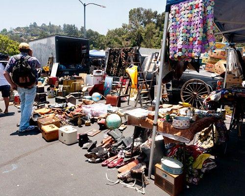 El Plan B Rose Bowl Flea Market En Los Angeles El Plan B Planos