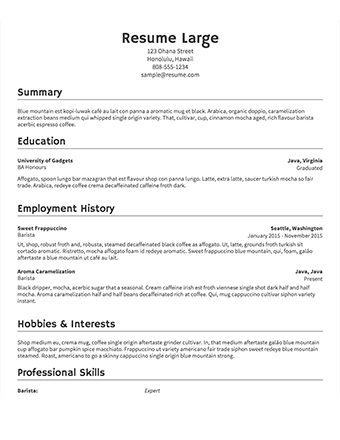 After all, a resume sample is just that—a sample. Free Resume Builder Resume Templates To Edit Download Resume Com Free Resume Builder Job Resume Template Basic Resume