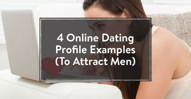 Online dating profile examples for women seeking men