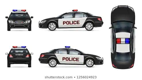 Police Car Template Printable Google Search Police Cars Police Cars For Sale Car Vector