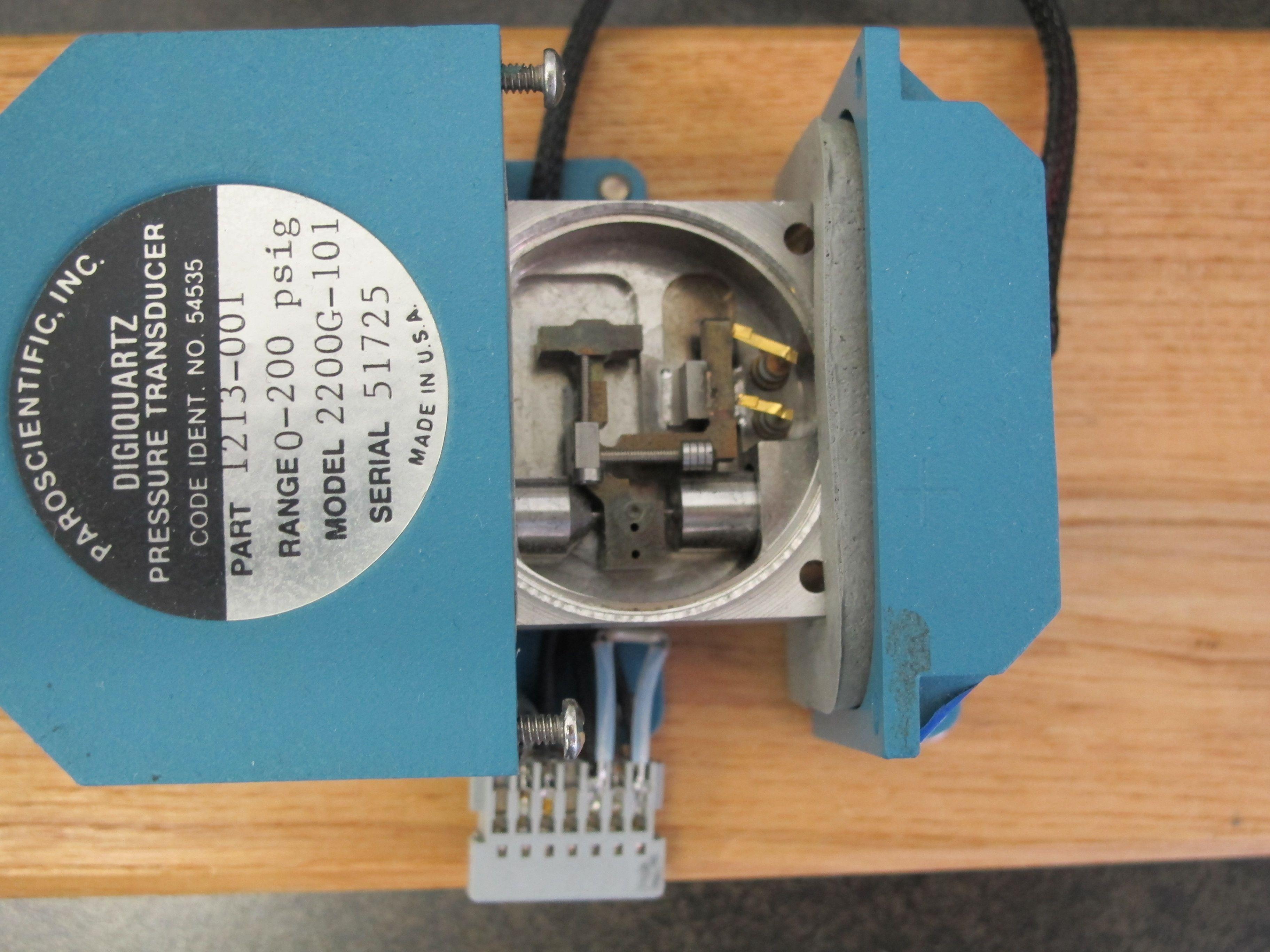 Paroscientific Quartz Resonant Pressure Transducer (Digiquartz ... on