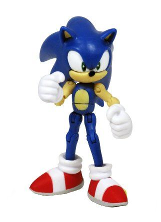 f43b2a80ae24c Amazon.com: Sonic the Hedgehog Exclusive 3 Inch Action Figure Sonic ...