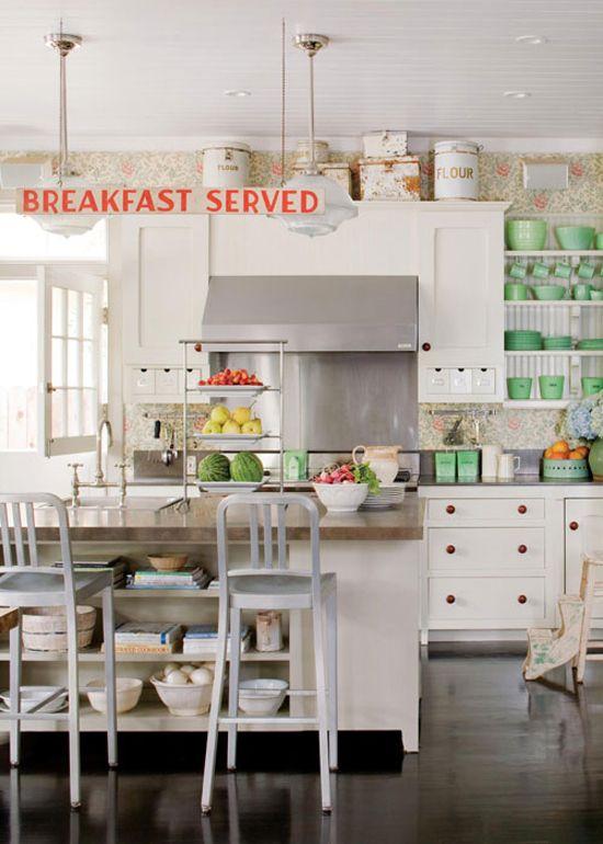 Lovely open kitchen