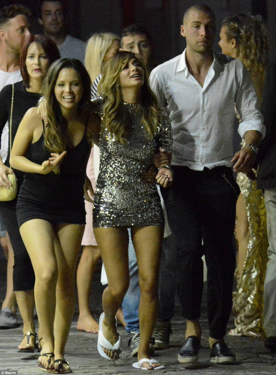 Holiday Flirtation In Recent Days Nicole Has Been Spotted Kissing Hunky Footballer Pajtim Kasami